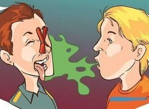 como acabar com mau hálito