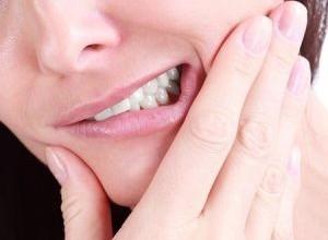 dente extraído inflamado